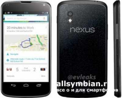 Фото LG Nexus 4