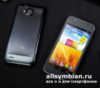 ZTE представила чрезвычайно узкий телефон Grand Era U985