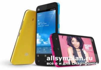 Новейший телефон Xiaomi Mi-Two