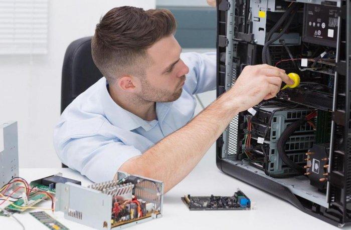 Обслуживание компьютерного оборудования.